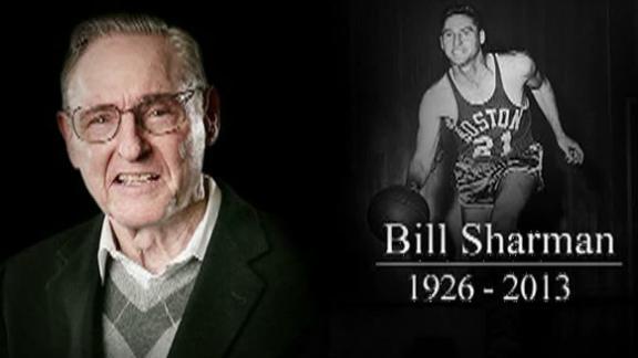 Ex-Celt player, Lakers coach Sharman dies