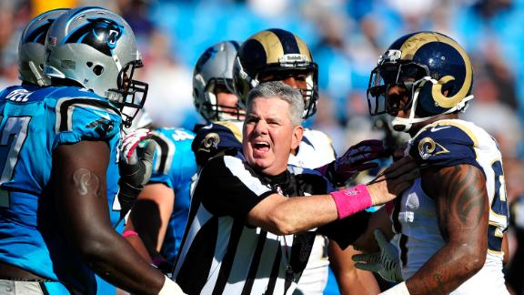 Video - Rams, Panthers Fined For Chippy Game