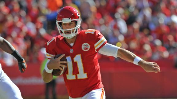 Chiefs overcome Browns to stay undefeated