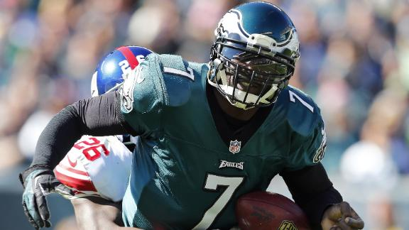 Video - Vick Leaves Early, Giants Top Eagles