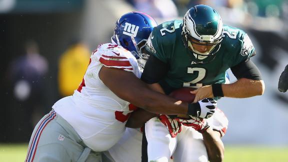Video - Giants' Defense Stifles Eagles