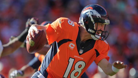 Broncos score final 38 points, sink Redskins