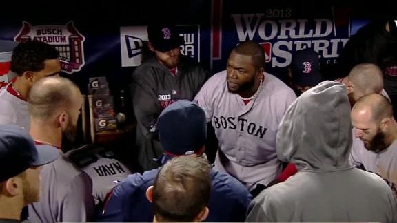 Video - David Ortiz Inspires Team