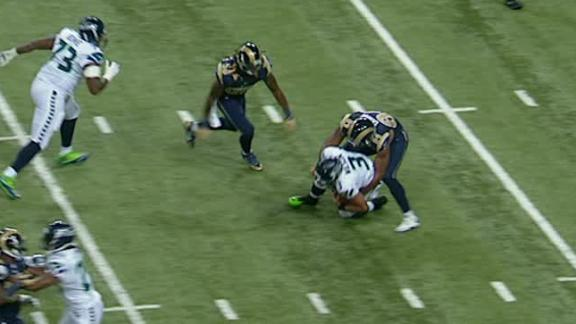 Video - Rams Lead Seahawks After 1st Quarter