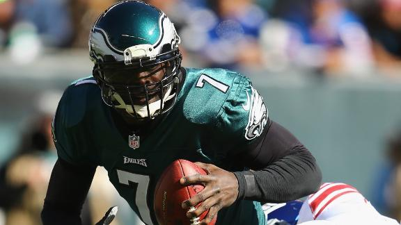 Kelly says Vick likely won't play vs. Raiders
