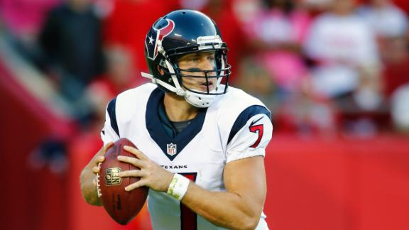 Texans tab Keenum, not Schaub, as starter