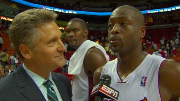 Heat Reaction - Chicago Bulls at Miami Heat