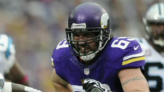 Video - Jared Allen Stays Put