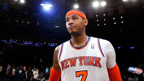 Video - Carmelo At Power Forward