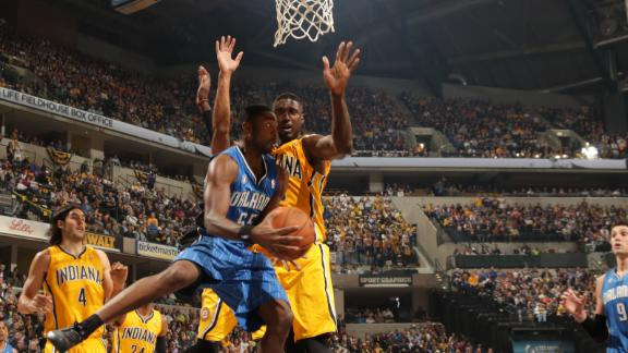 George, Pacers take down Magic in opener
