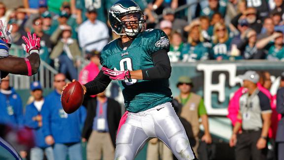 Eagles tab Foles as starting QB vs. Raiders