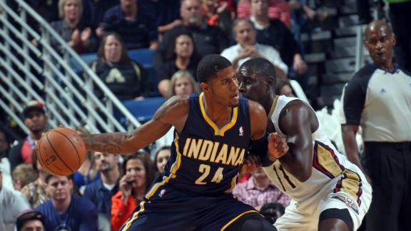 Video - George, Pacers Rally Past Pelicans