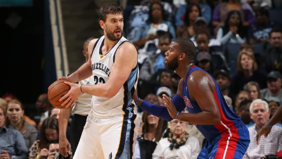 Conley, Griz top Pistons in OT for first win