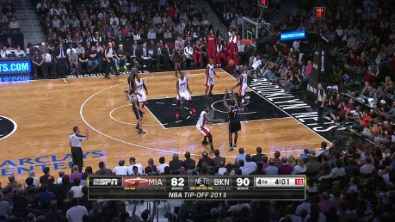 Video - Joe Johnson Leading Nets