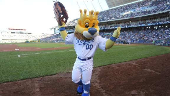 Fan sues Royals for mascot hot dog mishap