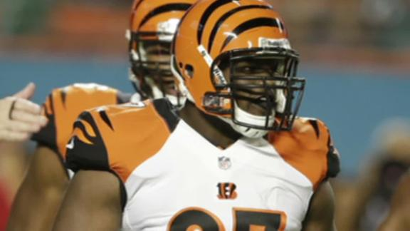 Bengals' Atkins diagnosed with torn ACL