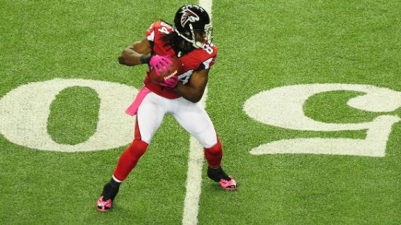 Video - Roddy White Questionable For Sunday