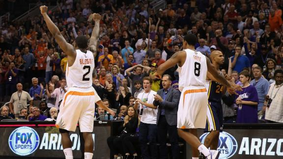 Video - Bledsoe Lifts Suns To Win Over Jazz