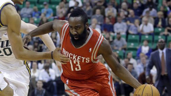 Parsons, Harden keep Rockets undefeated