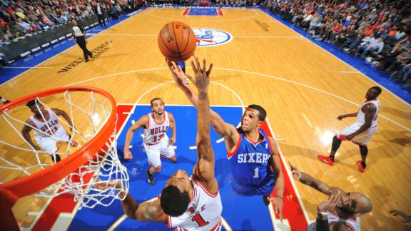 Sixers stun Bulls to continue surprising start