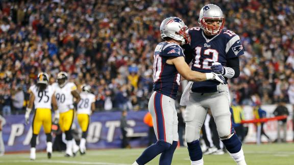 Video - Brady, Patriots Outduel Steelers