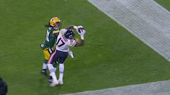 Video - Bears Lead Packers After The 3rd Quarter