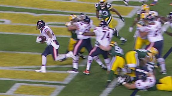 Video - Bears Lead Packers At The Half