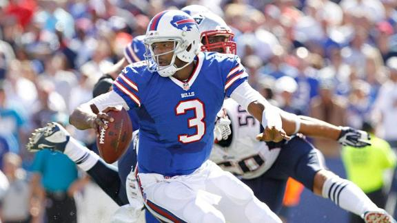 Bills QB Manuel practices, eyes start Sunday