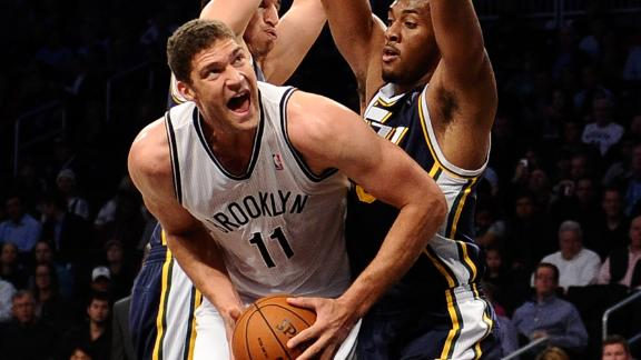 Nets defeat Jazz, win in Kidd's home debut