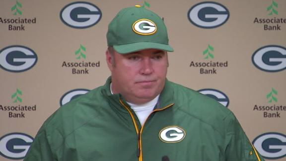 Video - McCarthy Talks Rodgers Injury