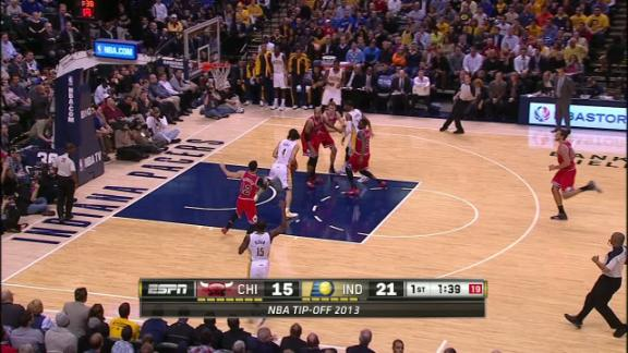 Video - Pacers take 1st quarter lead