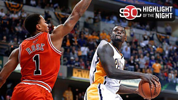 Pacers remain unbeaten with rout of Bulls