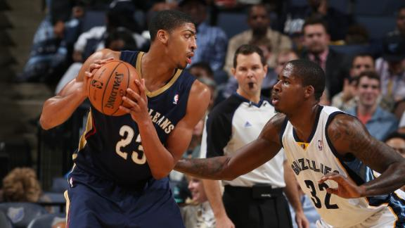 Video - Pelicans Push Past Grizzlies
