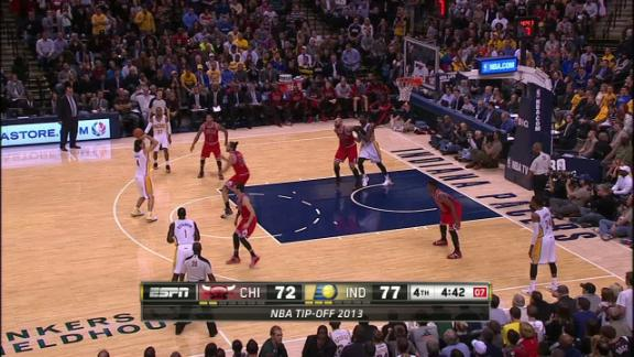 Video - Scola leads Pacers