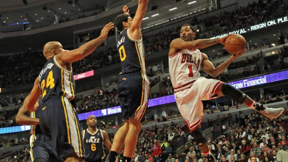 Bulls ease by winless Jazz behind Deng, Boozer