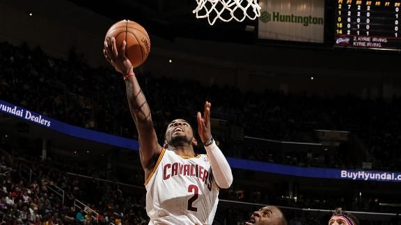 Irving sinks winner in double OT, lifts Cavs