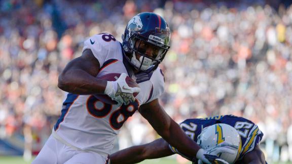 Broncos' Manning will have MRI on Monday