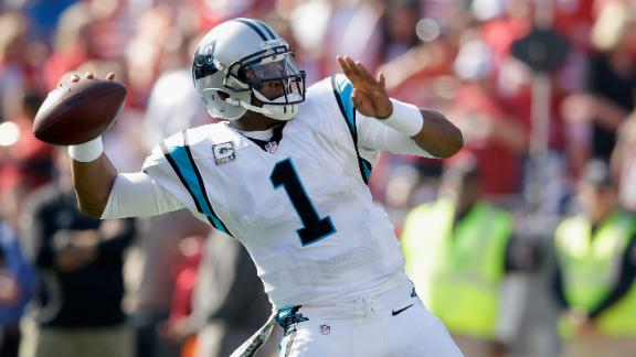 Panthers hold down 49ers to win 5th straight
