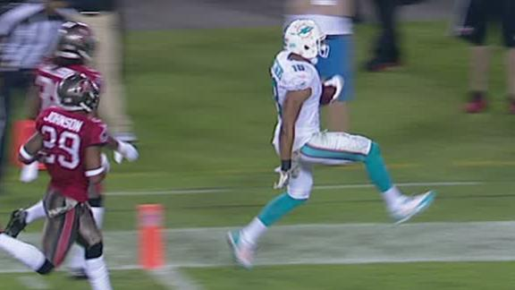 Video - Dolphins Lead Buccaneers After 3rd Quarter