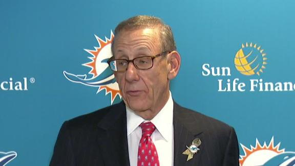 Video - Dolphins Owner Addresses Media