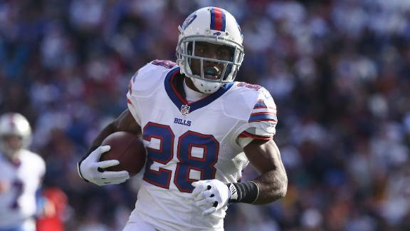 Bills WR Woods (ankle) won't play vs. Jets