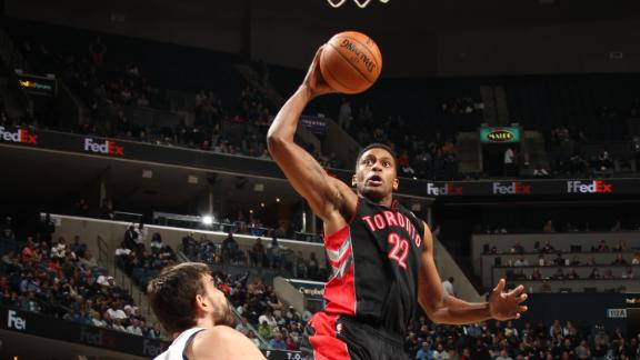 Video - Raptors Roll Grizzlies