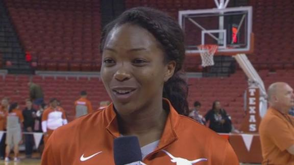 Texas' Enemkpali Posts Double-Double In Win