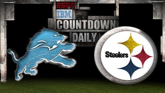 Video - Countdown Daily Prediction: DET-PIT