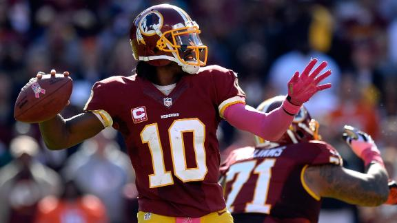 Redskins' Moss to RG III: Take some blame