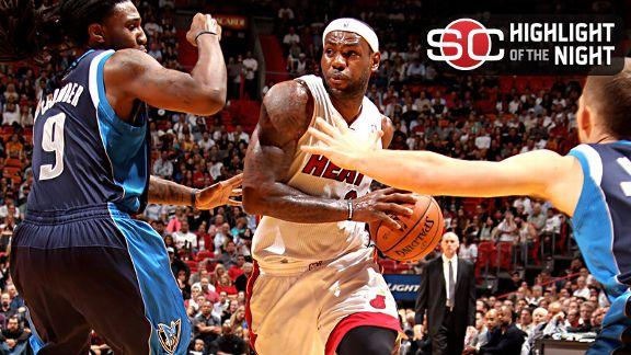 Video - LeBron Leads Heat Past Mavs