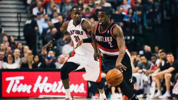 Video - Blazers Pull Away From Raptors In OT