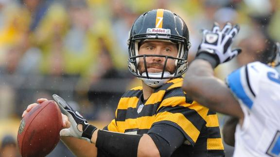Big Ben, Steelers edge Lions with 2 late TDs