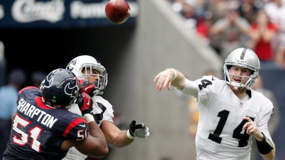 Video - McGloin Leads Raiders Past Texans