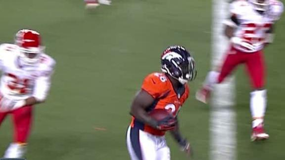 Manning, Broncos hand Chiefs first defeat